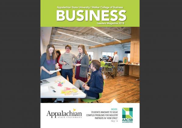 2018 Business Leaders Magazine, Appalachian State University